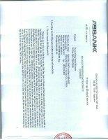 Báo cáo tình hình quản trị công ty - Ngân hàng Thương mại cổ phần An Bình