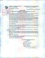 Nghị quyết Hội đồng Quản trị - Công ty cổ phần Xuất nhập khẩu Thủy sản Cửu Long An Giang