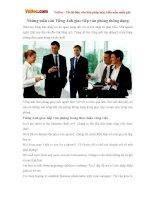 Những mẫu câu Tiếng Anh giao tiếp văn phòng thông dụng