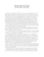 Bài Thuyết minh về Núi bà Đen  Tây Ninh