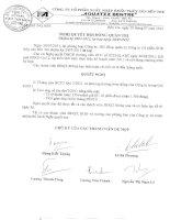 Nghị quyết Hội đồng Quản trị ngày 30-7-2011 - Công ty Cổ phần Xuất nhập khẩu Thủy sản Bến Tre