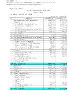 Báo cáo tài chính quý 2 năm 2007 - Ngân hàng Thương mại Cổ phần Á Châu