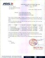 Báo cáo tài chính quý 1 năm 2014 - Công ty cổ phần Chứng khoán An Bình