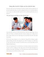 Những điều cần biết về khám sức khỏe tiền hôn nhân