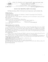 Báo cáo thường niên năm 2013 - Công ty Cổ phần Xuất nhập khẩu Thủy sản Bến Tre