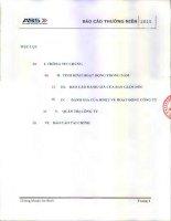 Báo cáo thường niên năm 2015 - Công ty cổ phần Chứng khoán An Bình