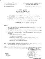 Nghị quyết Hội đồng Quản trị ngày 16-07-2011 - Công ty Cổ phần Thủy sản Mekong