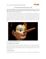 11 dấu hiệu nhận biết người nói dối