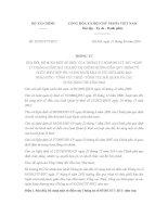Thông tư 32/2014/TT-BTC quy trình tổ chức phối hợp thu ngân sách nhà nước