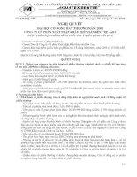 Nghị quyết đại hội cổ đông ngày 05-11-2009 - Công ty Cổ phần Xuất nhập khẩu Thủy sản Bến Tre