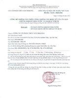 Báo cáo tài chính quý 2 năm 2014 (đã soát xét) - Công ty Cổ phần Thủy sản Mekong