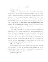 SỰ RA đời, tồn tại và XU THẾ PHÁT TRIỂN của báo MẠNG điện tử ở VIỆT NAM  TIỂU LUẬN CAO HỌC BÁO CHÍ