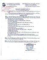 Nghị quyết Hội đồng Quản trị ngày 30-09-2011 - Công ty cổ phần Xuất nhập khẩu Thủy sản Cửu Long An Giang