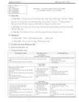 Giáo án Toán 6 (Số học Chương I)