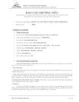 Báo cáo thường niên năm 2014 - Công ty Cổ phần Thủy sản Mekong
