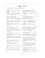 Bộ 3 Đề Thi Anh văn TOEFL ITP đầy đủ