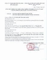 Nghị quyết Hội đồng Quản trị - Công ty cổ phần Bê tông Becamex