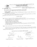 Nghị quyết Hội đồng Quản trị ngày 05-08-2011 - Công ty Cổ phần Xuất nhập khẩu Thủy sản Bến Tre