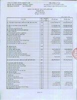 Báo cáo tài chính quý 4 năm 2013 - Công ty TNHH Chứng khoán ACB
