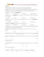 Bộ đề thi thử THPT Quốc gia năm 2016 môn Tiếng Anh - Số 12