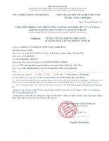 Báo cáo tài chính quý 2 năm 2015 (đã soát xét) - Công ty Cổ phần Thủy sản Mekong