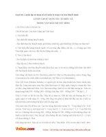 Soạn bài lớp 9: Luyện tập sử dụng yếu tố miêu tả trong văn bản thuyết minh