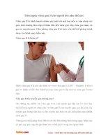 Tiêm ngừa viêm gan B cho người lớn như thế nào?