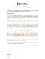 Bài essay mẫu IELTS Writing band 8++ ( Zim Academy )