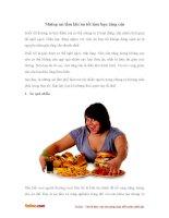 Những sai lầm khi ăn tối có thể làm bạn tăng cân