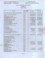 Báo cáo tài chính công ty mẹ quý 1 năm 2014 - Công ty TNHH Chứng khoán ACB