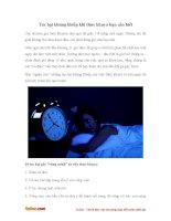 Tác hại khủng khiếp khi thức khuya bạn cần biết
