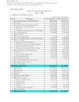 Báo cáo tài chính quý 1 năm 2007 - Ngân hàng Thương mại Cổ phần Á Châu