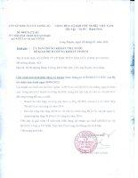 Báo cáo tài chính công ty mẹ quý 4 năm 2015 - Công ty cổ phần Xuất nhập khẩu Thủy sản Cửu Long An Giang
