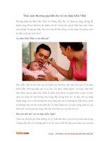 Những thắc mắc thường gặp khi cho trẻ ăn dặm kiểu Nhật