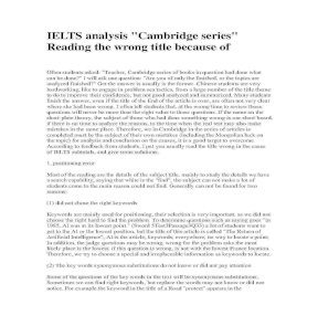 IELTS experience ( Kinh nghiệm làm bài thi IELTS )