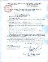 Nghị quyết Hội đồng Quản trị - CTCP May mặc Bình Dương