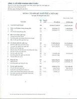 Báo cáo tài chính quý 3 năm 2015 - Công ty cổ phần Khoáng sản Á Châu