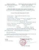 Báo cáo tài chính năm 2014 (đã kiểm toán) - Công ty cổ phần Xuất nhập khẩu An Giang