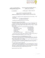 Nghị quyết Hội đồng Quản trị - Công ty Cổ phần Sách và Thiết bị trường học Đà Nẵng