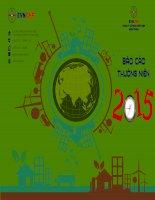 Báo cáo thường niên năm 2015 - Công ty Cổ phần Thủy điện miền Trung