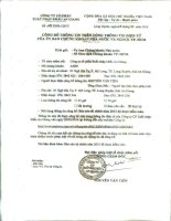 Báo cáo tài chính năm 2013 (đã kiểm toán) - Công ty cổ phần Xuất nhập khẩu An Giang
