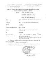 Báo cáo tài chính quý 4 năm 2015 - Công ty cổ phần Chứng khoán Ngân hàng Đầu tư và Phát triển Việt Nam