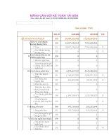 Báo cáo tài chính quý 1 năm 2006 - Công ty cổ phần Đầu tư Hạ tầng Kỹ thuật T.P Hồ Chí Minh
