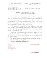 Báo cáo tài chính quý 3 năm 2014 - Công ty cổ phần Vicem Bao bì Bỉm Sơn
