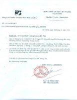 Báo cáo tài chính hợp nhất quý 3 năm 2014 - Công ty Cổ phần Văn hóa Tân Bình