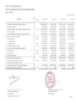 Báo cáo KQKD công ty mẹ quý 4 năm 2012 - Công ty Cổ phần Gò Đàng