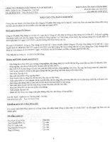 Báo cáo tài chính năm 2007 - Công ty Cổ phần Đầu tư CMC
