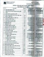 Báo cáo tài chính hợp nhất quý 4 năm 2011 - Công ty Cổ phần Xây dựng 47