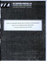 Báo cáo tài chính năm 2012 (đã kiểm toán) - Công ty cổ phần Cấp thoát nước Bình Định