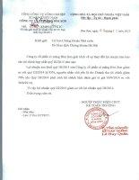 Báo cáo tài chính hợp nhất quý 3 năm 2015 - Công ty Cổ phần Xi măng Bỉm Sơn